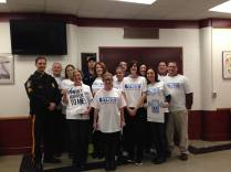 VHS Staff partner with Verona Police to educate student on Aware Awake Alive.