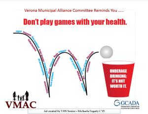 Don't Play Games with Your Health - 2015 Winning PSA Entry by Micheala Fogarty