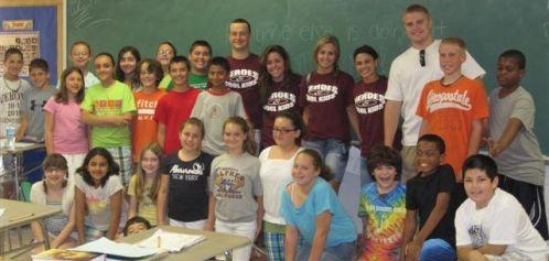 Heroes & Cool Kids visit HBW 5th graders