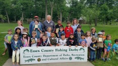 Fishing Derby 2018 Kids Group Essex County