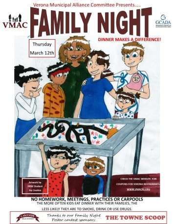 Family Night 2020 Poster 1 - Ivy Liaukus